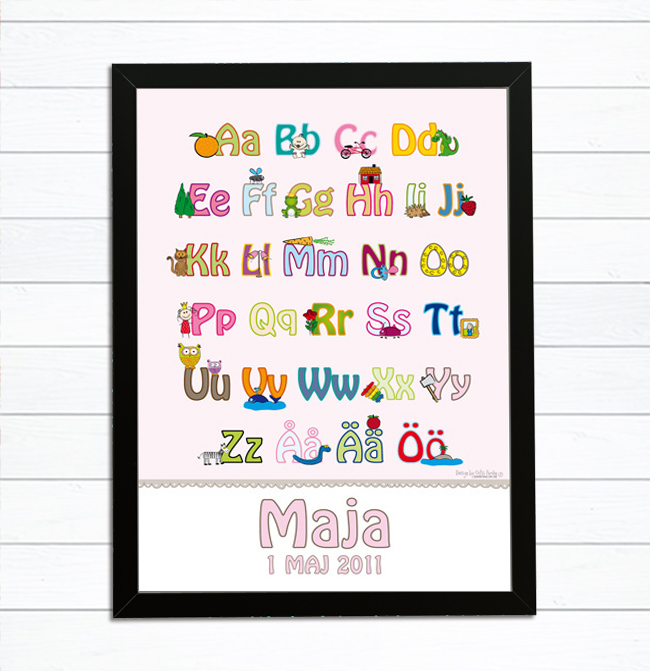 alfabet namntavla