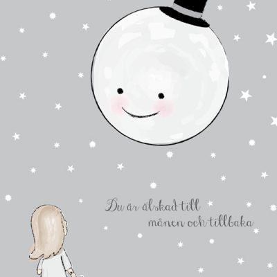 älskad till månen