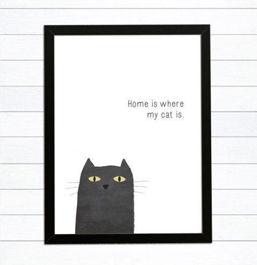 älskade katt tavla
