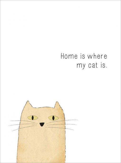 min katt är bäst tavla