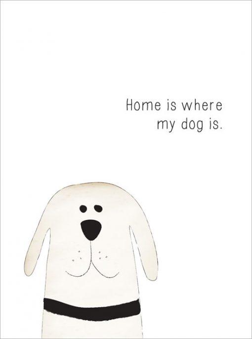 hundtavla för hundälskare