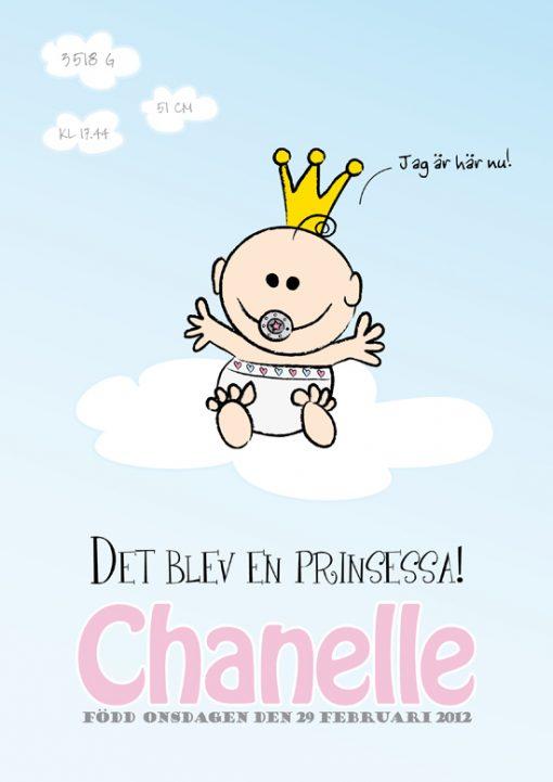 barntavla prinsessa
