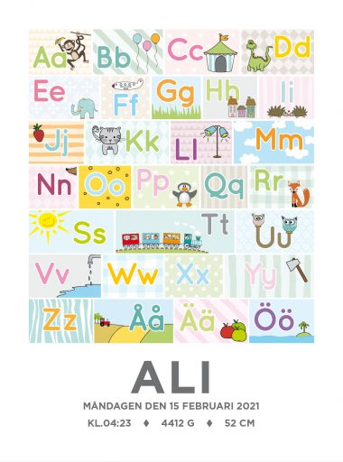 alfabetets namntavla