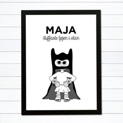 batman barntavla