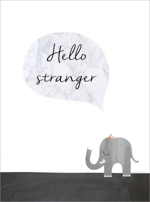 tavla med elefant