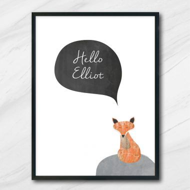 hello tavla med räv