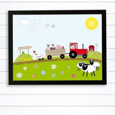 barntavla bondgård
