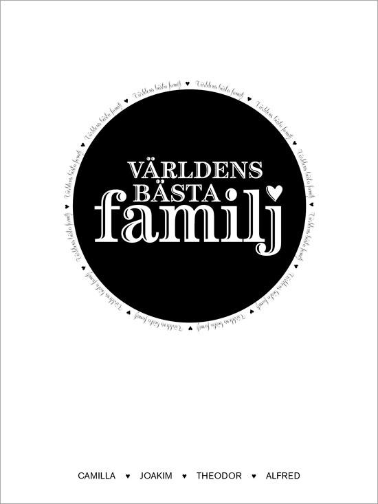 Världens bästa familj